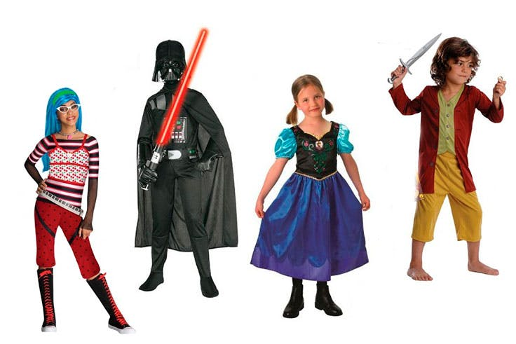 Disfraces para carnaval del supermercado Carrefour