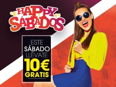 Disfruta de tu cupón de 10€ de regalo de 'Happy Sábados' en Valle Real