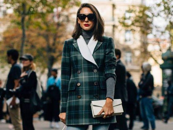 Looks street style de la Fashion Week