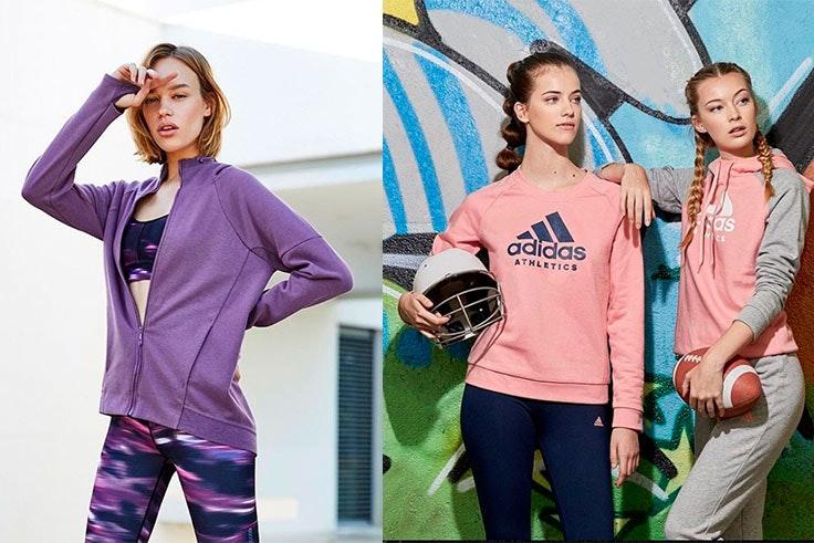 Prendas deportivas de mujer de la tienda Decimas