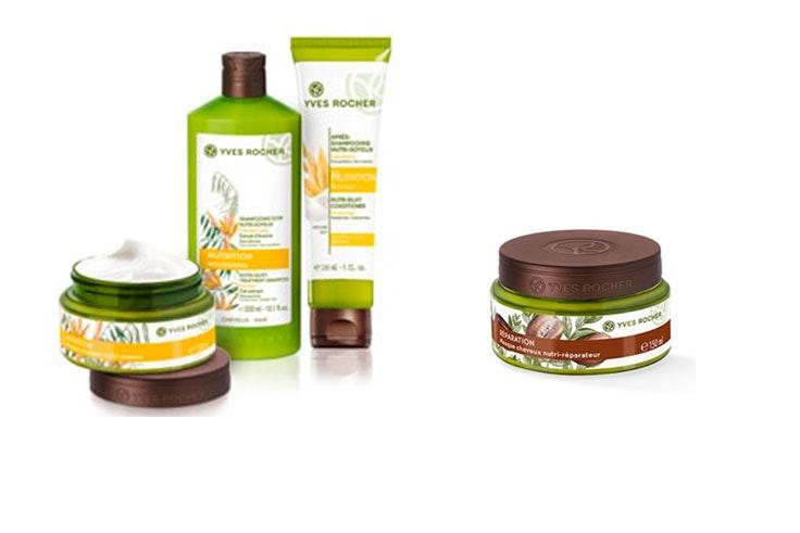 Productos capilares de Yves Rocher para hidratar tu cabello en profundidad