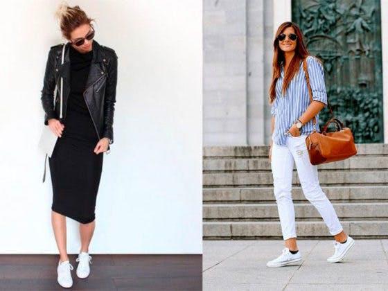Apuesta por las zapatillas en tus street style