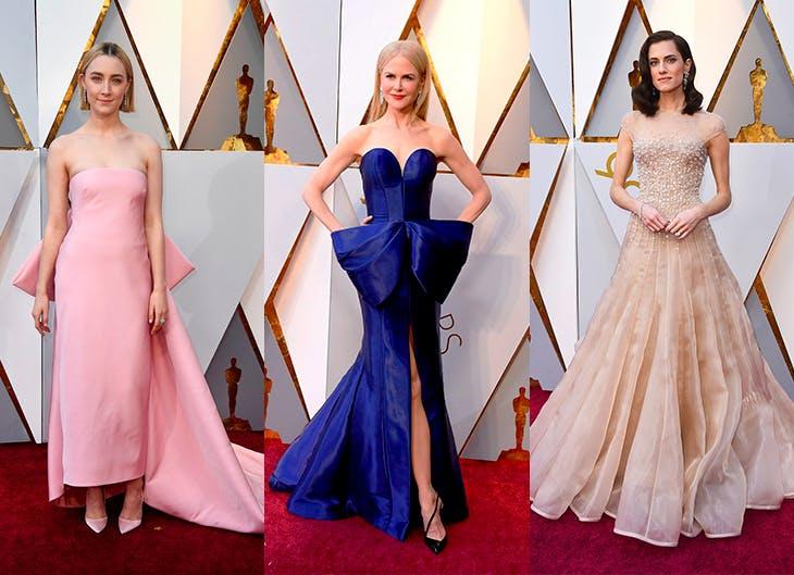 Los estilismos de la alfombra roja de los Oscar 2018
