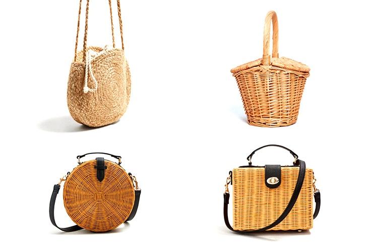 Las cestas tendencia de esta temporada for Como aprovechar una cesta de mimbre