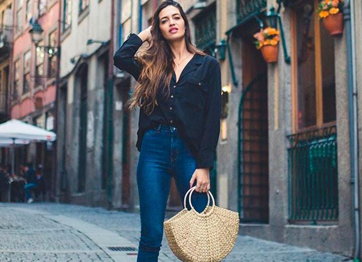 Sara Carbonero luce una cesta de la tienda Zara