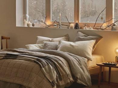 Toque rústico en la decoración de tu dormitorio