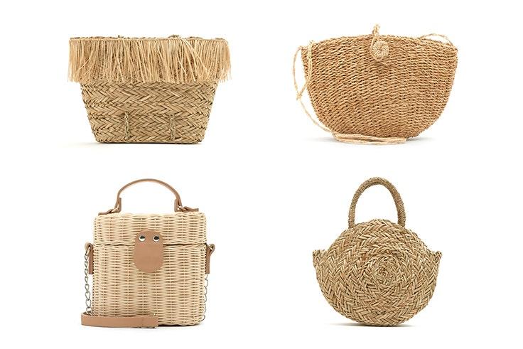 Bolsos cesta de la tienda Pull and Bear