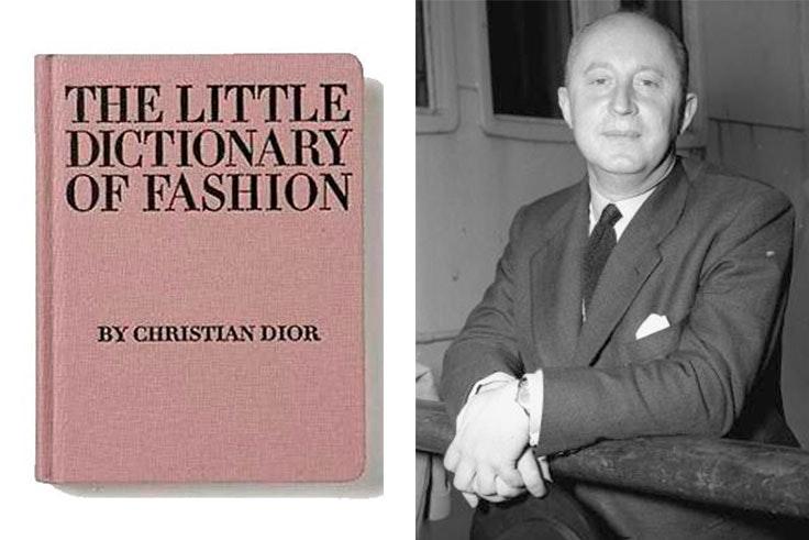 El pequeño diccionario sobre la moda Christian Dior