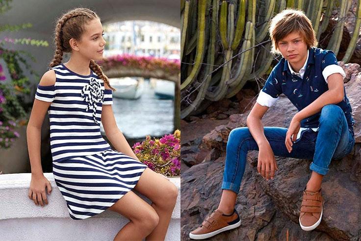 Moda marinera infantil