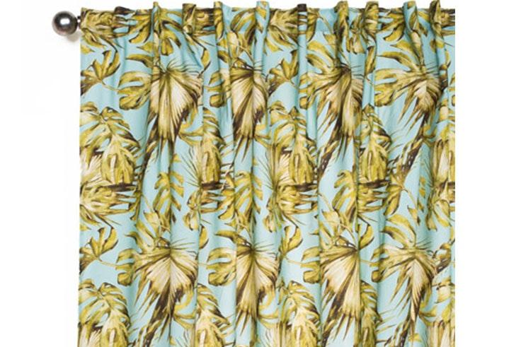 Tendencia de decoración de estilo tropical para el salón