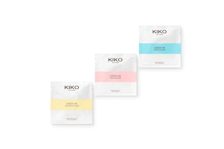 Mascarillas de arcilla de Kiko Milano