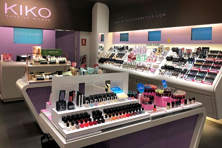 tienda Kiko Milano en Valle Real