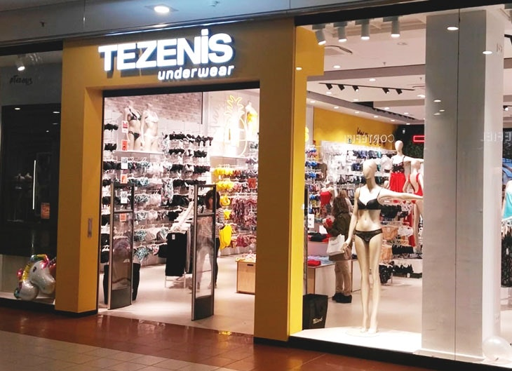 apertura de Tezenis