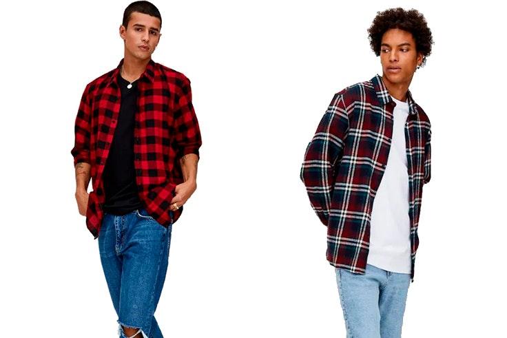 Camisas-de-hombre-Pull&Bear-cuadros