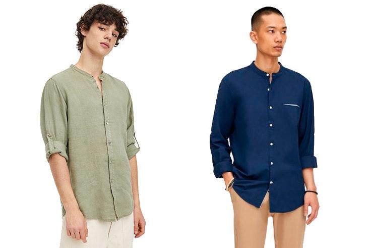 Camisas-hombre-Pull&Bear-mao