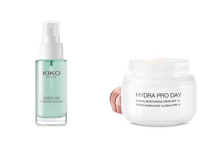hidratación de la piel