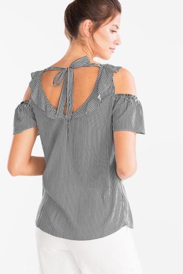 blusa rayas c&A
