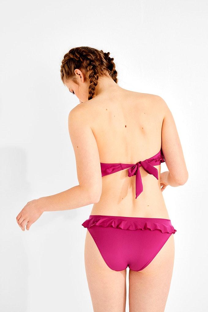 top bikini rosa volantes ws