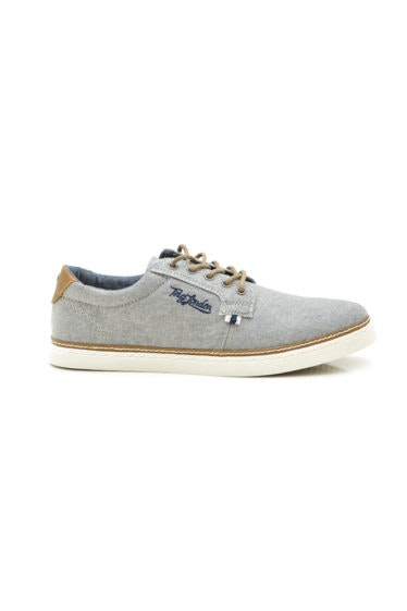 zapatillas lona gris tino