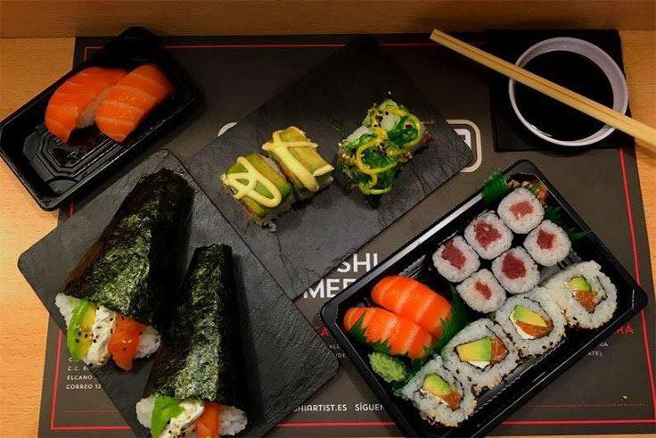 Descuento en Sushi Artist