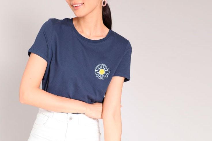 camisa-manga-corta-azul-marino-pimkie