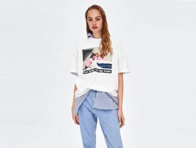 camisetas series Zara