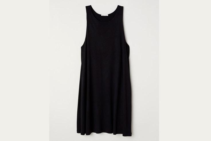 vestido-negro-corto-hm-vallereal
