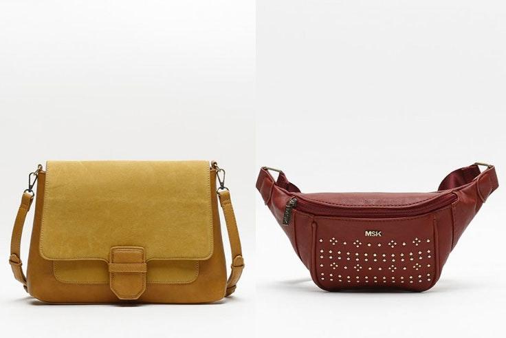 bolso-amarillo-rinonera-roja-misako-color-block