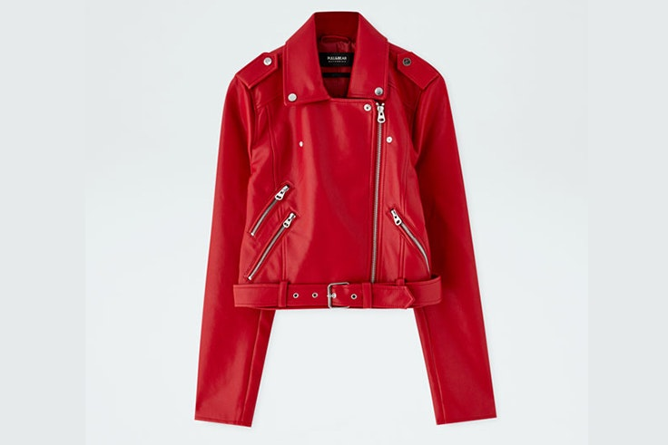 cazadora-roja-biker-pull-and-bear