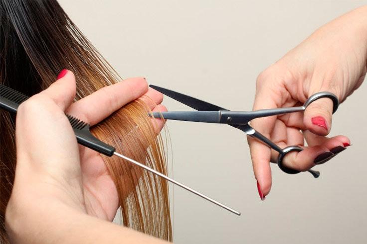 sanea tu cabello con frecuencia