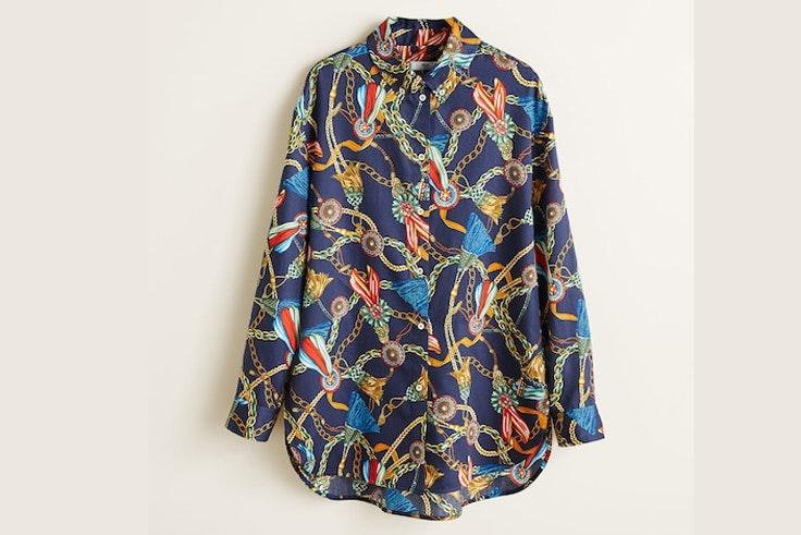 camisa-estampado-panuelo-azul-mango