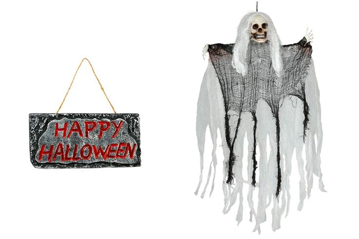 decoracion puertas halloween
