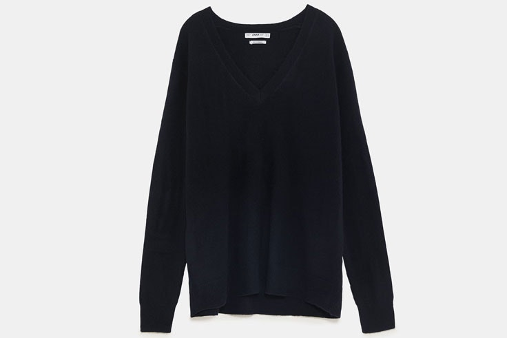 jersey-negro-punto-fino-zara-itziar-aguilera