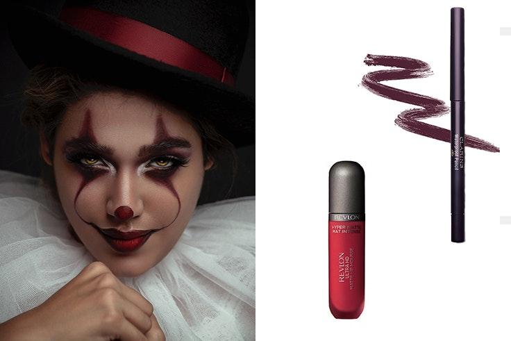 Maquillaje-Halloween--Payaso-IT