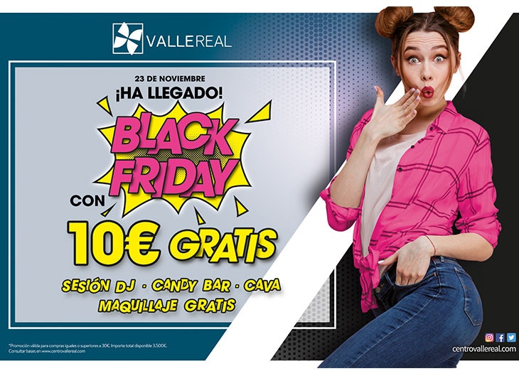 Actividades en Valle Real en Black Friday