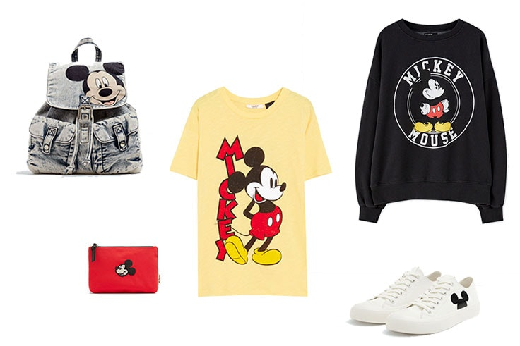 coleccion mickey mouse pull and bear