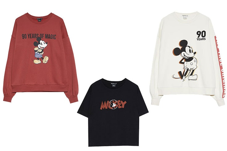 coleccion mickey mouse stradivarius