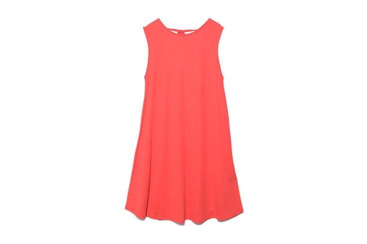 living coral en moda vestido