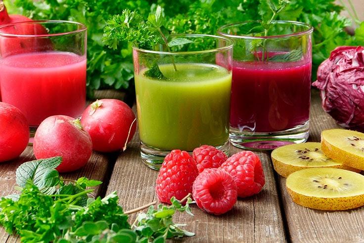 Batidos detox para adelgazar ingredientes