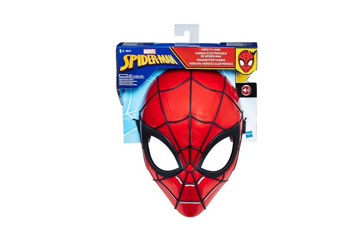 mascara de carnaval carrefour spider man