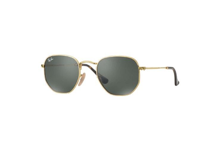 gafas-de-sol-metal-dorado-rombo-ray-ban-soloptical