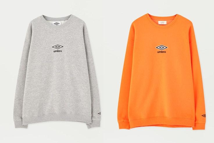 sudadera-umbro-naranja-gris-pull-and-bear