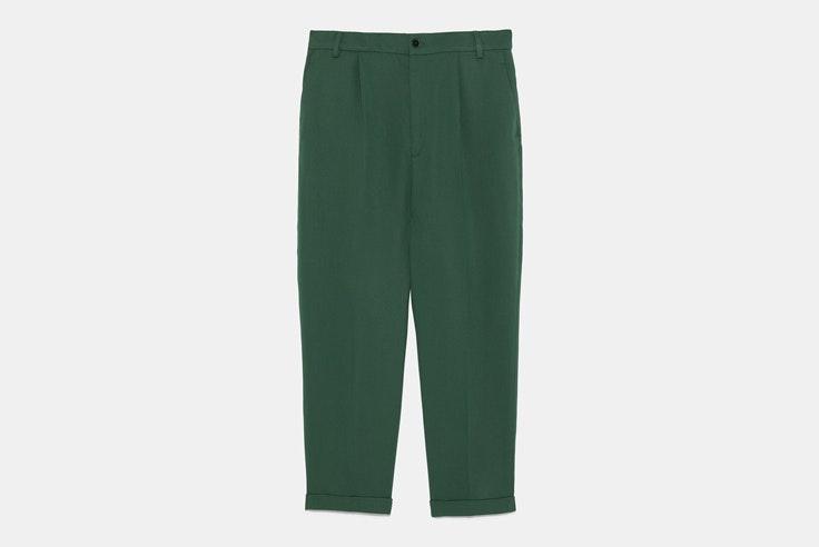 pantalon-verde-zara