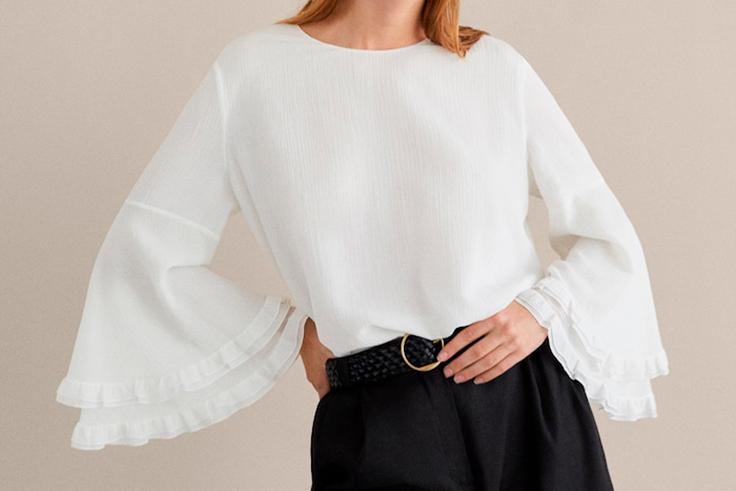 blusa-blanca-mangas-volantes-massimo-dutti