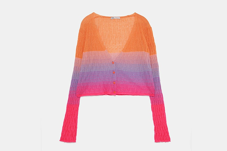 Chaqueta de colores de Zara