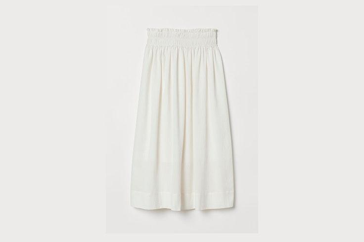 falda-blanca-fluida-hm