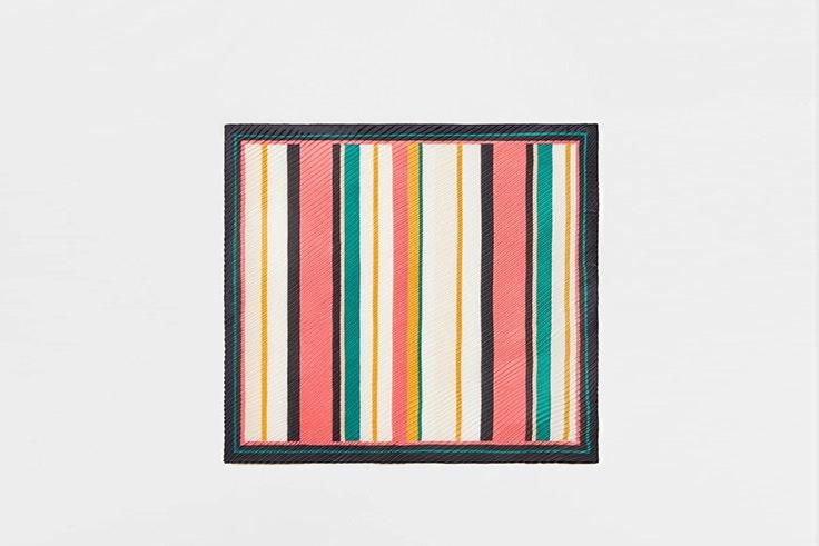 Pañuelo de rayas de colores de Stradivarius