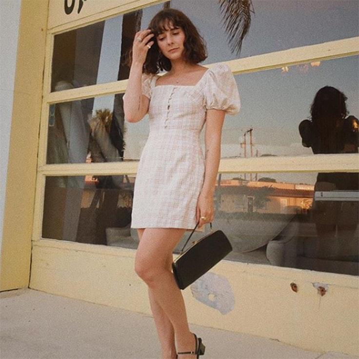 Alyssa vestido color pastel