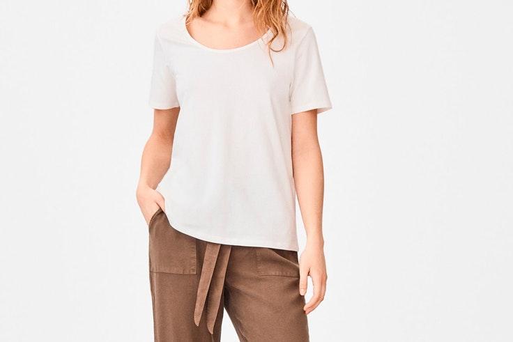 camiseta organica cortefiel
