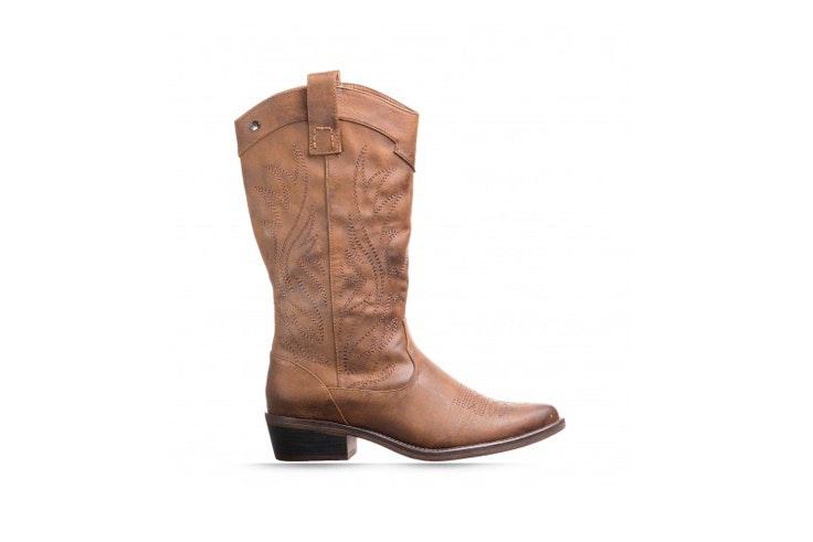 botas cowboy marrones rock and shoes calzado de otoño